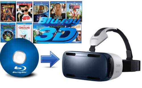 Watch 3D Blu-ray on Samsung Gear VR