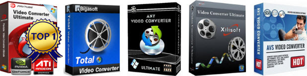 Top 5 Best Video Converter Ultimate