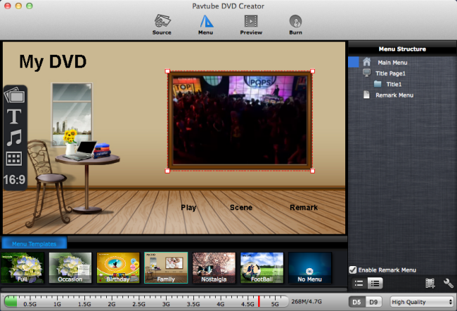 Pavtube DVD Creator for Mac